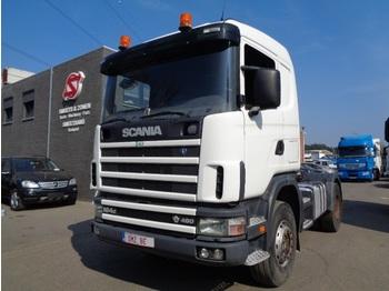 """Ciągnik siodłowy Scania 164 480 C heavy chassis 561""""km steel big axle"""