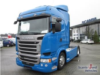 Scania R410LA4X2MLA / Vollverekleidung / Abstands-u. Spur - ciągnik siodłowy