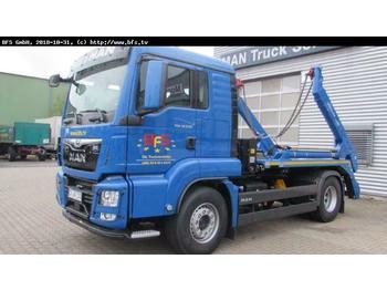 Ciężarówka bramowiec MAN TGS 18.500 4x2 BL Meiller AK 12 MT