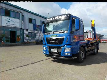 Ciężarówka bramowiec MAN TGS 18.500 4x2 BL Palfinger: zdjęcie 1