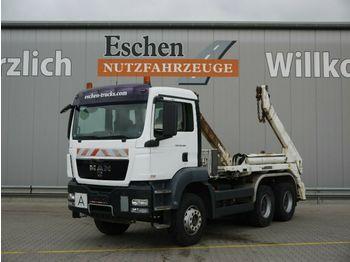 Ciężarówka bramowiec MAN TGS 26.400 BB, 6x4, Meiller AK 16 Tele, Klima