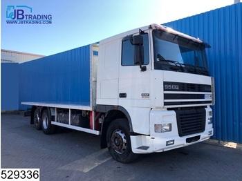 Ciężarówka burtowa DAF 95 XF 430 6x2, EURO 2, Manual, Retarder, Airco