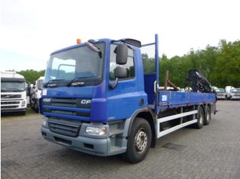 D.A.F. CF 75.310 6x2 RHD + Terex TLC 120 2E-A2 - ciężarówka burtowa