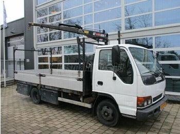 ISUZU N-SZÉRIA NPR 55L-5H Darus Platós - ciężarówka burtowa
