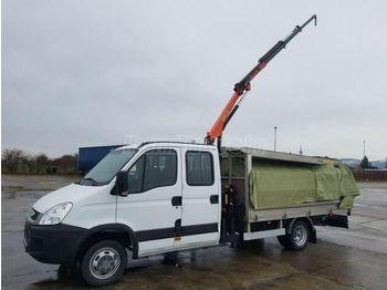 IVECO DAILY 50 C 15 DOKA Darus Platós - ciężarówka burtowa