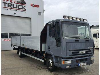 IVECO EuroCargo ML 80EL17, Manual, Full Steel - ciężarówka burtowa