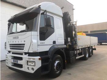 IVECO STRALIS AT260S43 - ciężarówka burtowa