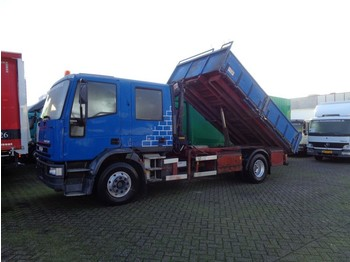Iveco EuroCargo 130e18 + Manual + Pto + HIAB 025 - ciężarówka burtowa