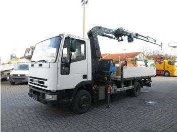 Ciężarówka burtowa Iveco EuroCargo 80 E 15 Pritsche Kran 15,5m+ Winde