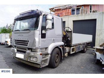 Ciężarówka burtowa Iveco Stralis