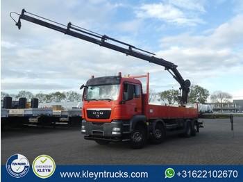 MAN 35.400 TGS hiab211 ep-4 hiduo,r - ciężarówka burtowa