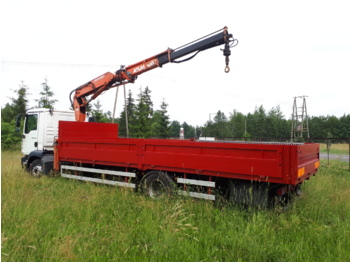 MAN / HDS Atlas TGM 15.280 / HDS 100.1 - ciężarówka burtowa