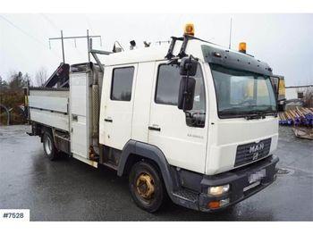 MAN LE 12.225 4x2 Darus Platós - ciężarówka burtowa