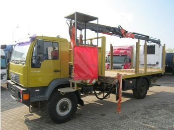 MAN LE 18 280 4X4 Atlas 85.2 Funk Remote  - ciężarówka burtowa