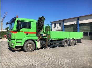 MAN MAN TGS 26.480 Pritsche/Kran/Hydrodrive - ciężarówka burtowa
