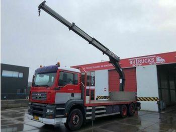 Ciężarówka burtowa MAN TGA26.350 HMF 2823K3