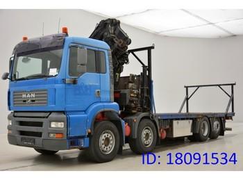 Ciężarówka burtowa MAN TGA 35.410 - 8x2