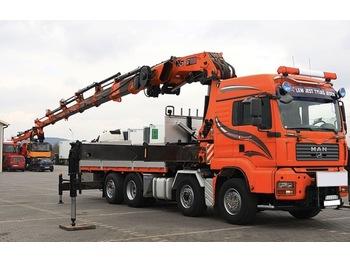 MAN TGA 35.480 - ciężarówka burtowa