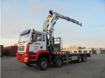 MAN TGA 41.360 8X4 - ciężarówka burtowa