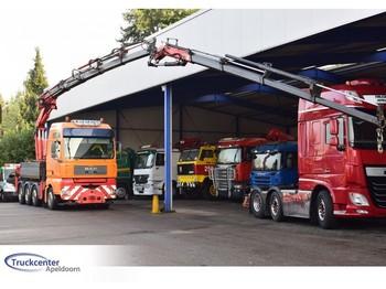 MAN TGA 41.530 8x4, Fassi F 450 XP + Jib, Retarder, Truckcenter Apeldoorn, kraan - kran - crane - grua - ciężarówka burtowa