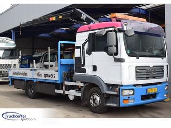 MAN TGL 12.240, HMF 503 K2, Euro 4, 11990 kg, Truckcenter Apeldoorn - ciężarówka burtowa