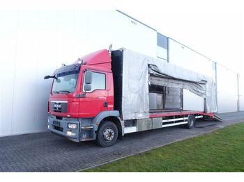MAN TGM15.290 4X2 EURO 5  CAR/PKW/ MACHINE TRANSPORT  - ciężarówka burtowa