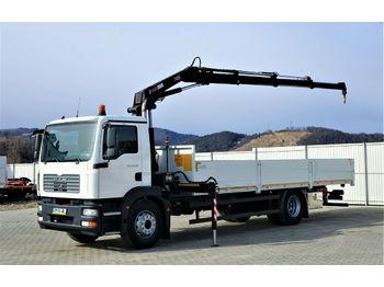MAN TGM 18.280 Pritsche 7,20m+Kran/FUNK* Topzustand!  - ciężarówka burtowa