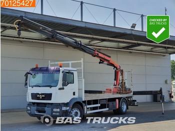 MAN TGM 18.290 4X2 Crane Euro 5 Palfinger PK140002 EH - ciężarówka burtowa