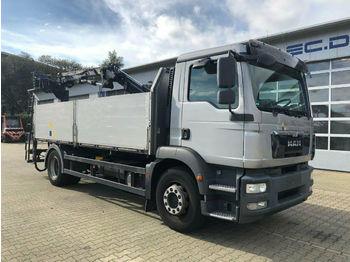 MAN TGM 18.340 Pritsche Kran ATLAS 105.2 *Hochsitz  - ciężarówka burtowa