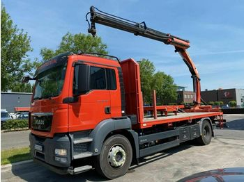 Ciężarówka burtowa MAN TGS 18.480 EEV 4X2 + PALFINGER PK15002