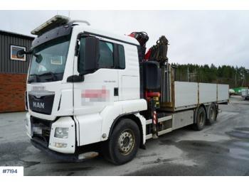 Ciężarówka burtowa MAN TGS 26.480