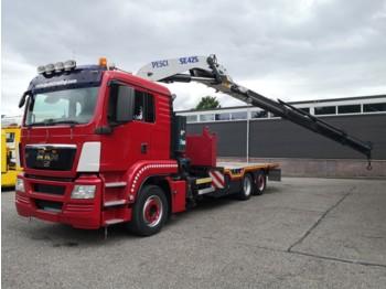 MAN TGS 26.480 6x2/4 Euro4 - Retarder - Pesci SE425 - 4H+2H - Manual - 03/2020APK - ciężarówka burtowa