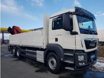 MAN TGX 26.460 - ciężarówka burtowa