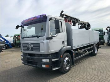 MAN TG-M 18.280 4x2 Pritsche Heckkran  - ciężarówka burtowa