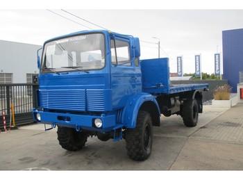 Ciężarówka burtowa Magirus-Deutz 168M11FAL 4X4 (iveco 110-16)