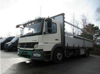 Mercedes-Benz 1218 Pritsche + Ladebordwand 6.600 mm lang  - ciężarówka burtowa