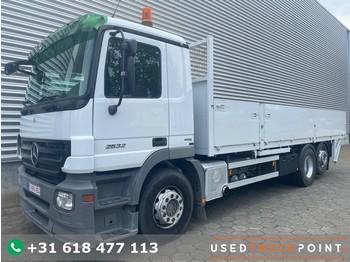Mercedes-Benz Actros 2532 / 6X2 / Euro 5 / Belgium Truck - ciężarówka burtowa