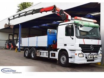 Ciężarówka burtowa Mercedes-Benz Actros 2546, Euro 5, 6x2, HMF 2220 K5, Truckcenter Apeldoorn