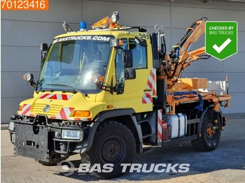 Mercedes-Benz Unimog U300 4X4 3-Pedals Hydraulik Euro 4 - ciężarówka burtowa