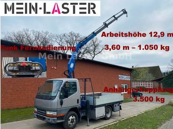 Ciężarówka burtowa Mitsubishi Canter HMF 403.4 *12,9 Meter * Funkfernbedienung