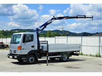 Ciężarówka burtowa Nissan ATLEON 5613 Pritsche 3,60 m + KRAN *Topzustand!