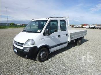 Ciężarówka burtowa OPEL MOVANO Crew Cab
