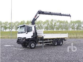 RENAULT K460 6x6 - ciężarówka burtowa