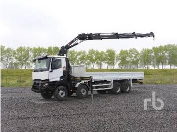 RENAULT K460 8x4 - ciężarówka burtowa