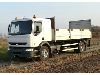 Ciężarówka burtowa RENAULT PREMIUM 260