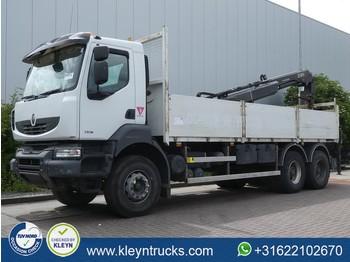 Renault KERAX 380 6x4 hiab 166b-3 hd - ciężarówka burtowa