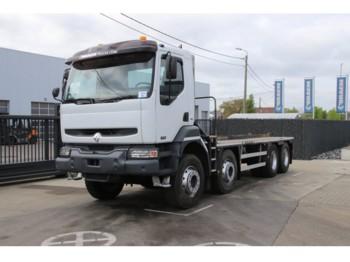 Ciężarówka burtowa Renault KERAX 420 DCI