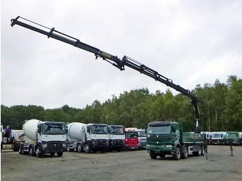 Renault Kerax 420 dci 8x4 + Palfinger PK44002E + jib PJ085B - ciężarówka burtowa