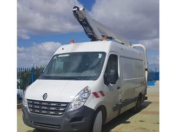 Renault Master 11,6 mts France Elevateur 111F boom lift  - ciężarówka burtowa