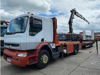 Renault PREMIUM 320.19 MANUAL EURO 3 MET HIAB 122 D-4 +  - ciężarówka burtowa